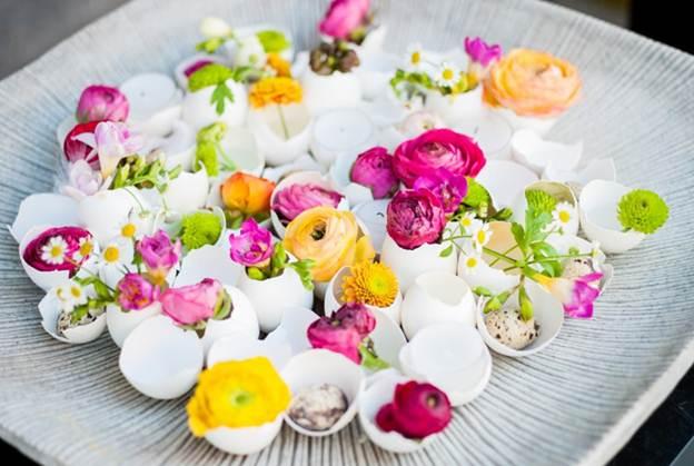 66 086c Trang trí nhà đẹp và tràn đầy sức sống với các chậu hoa tươi