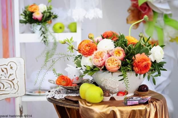 70 40d5 Trang trí nhà đẹp và tràn đầy sức sống với các chậu hoa tươi
